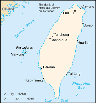 taiwan taipei map tour picture
